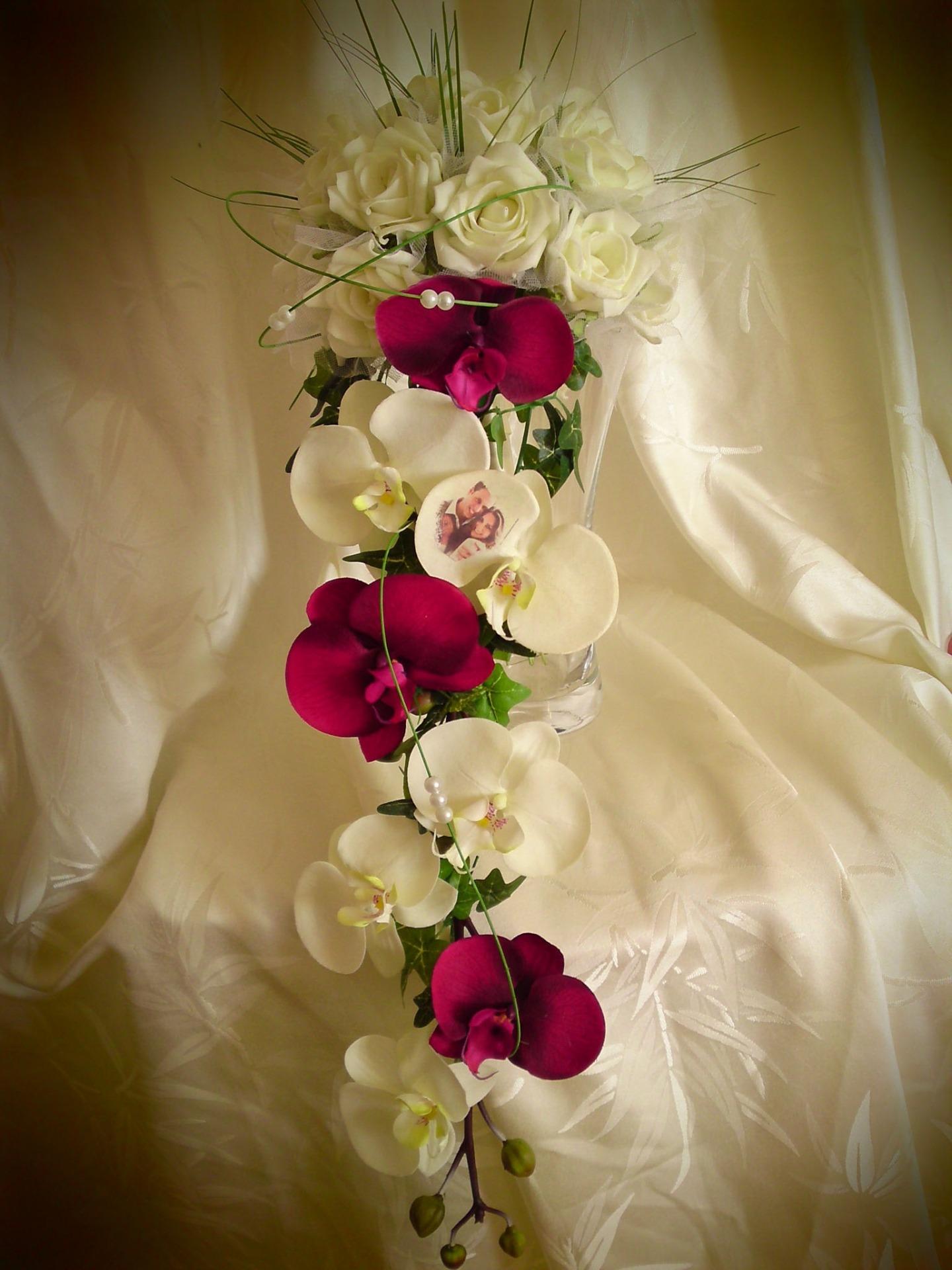 bouquet romantique marie bouquet de marie de pivoines. Black Bedroom Furniture Sets. Home Design Ideas