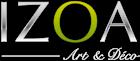 Logo tableau design izoa.fr