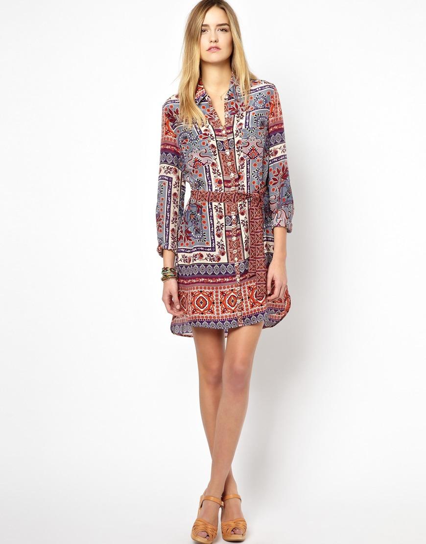Robe foulard