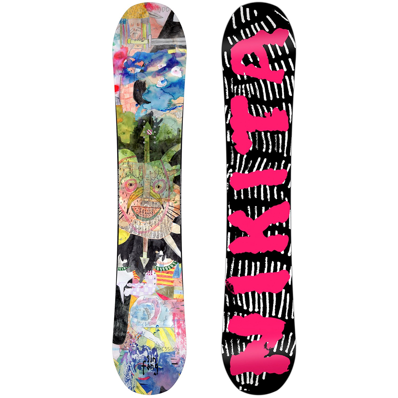 J'ai enfin pu acheter mon fameux snowboard pas cher