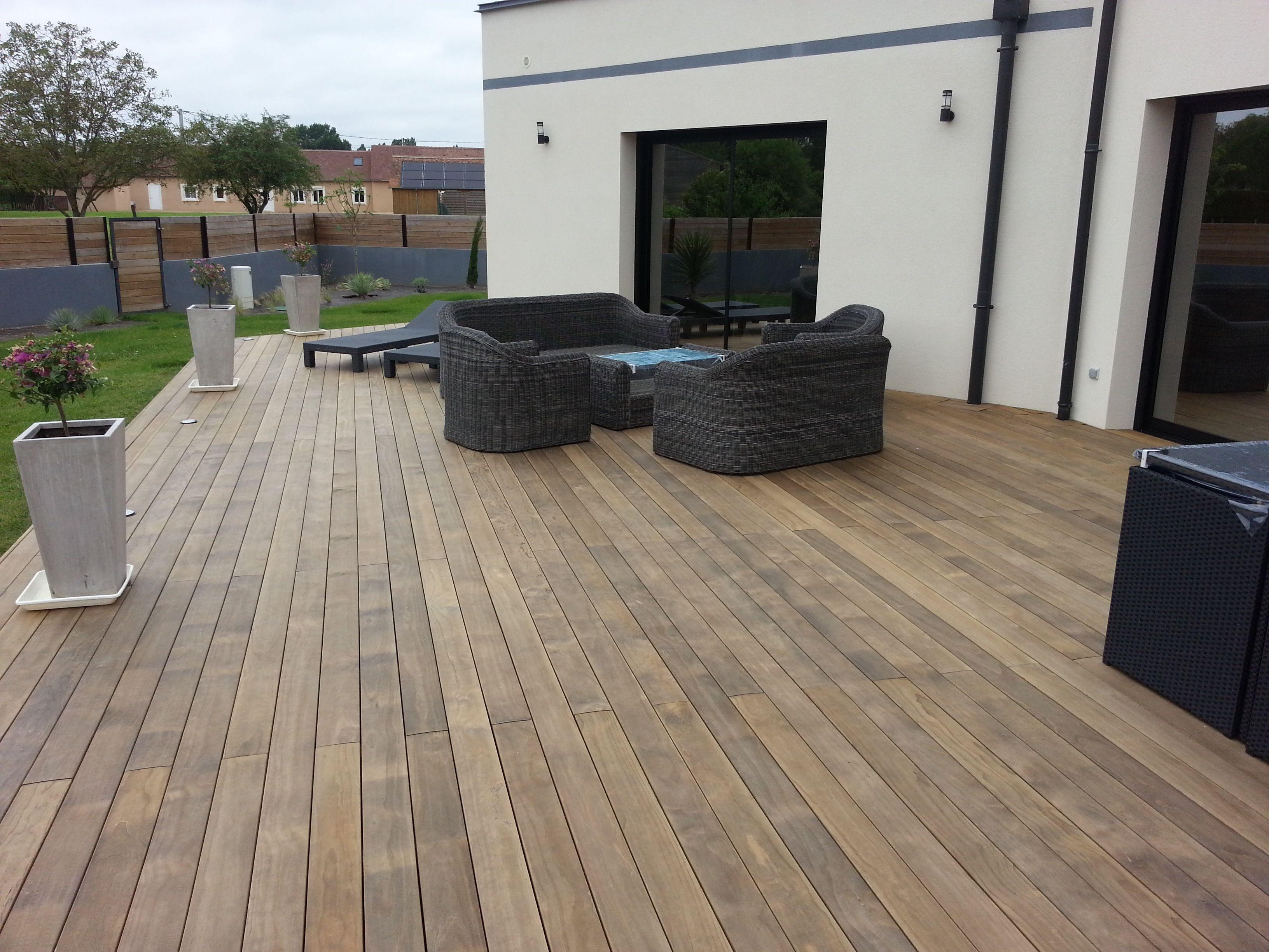 J 39 admire les finitions de ma terrasse en bois - Terrasses en bois photos ...