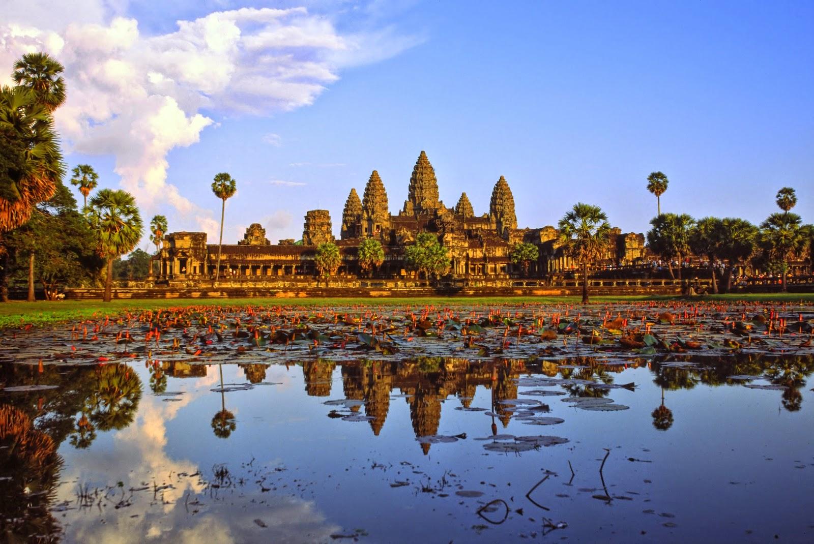 Mon superbe voyage au Cambodge est réservé