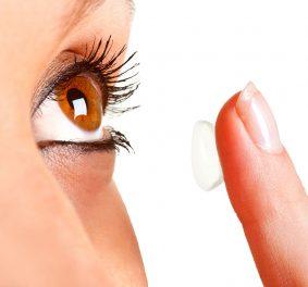 Lentilles de contact, pour éviter les lunettes